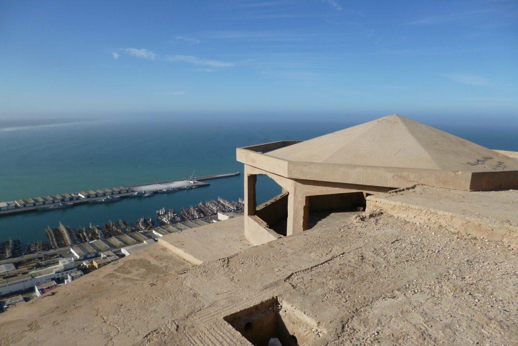 agadir town by the sea