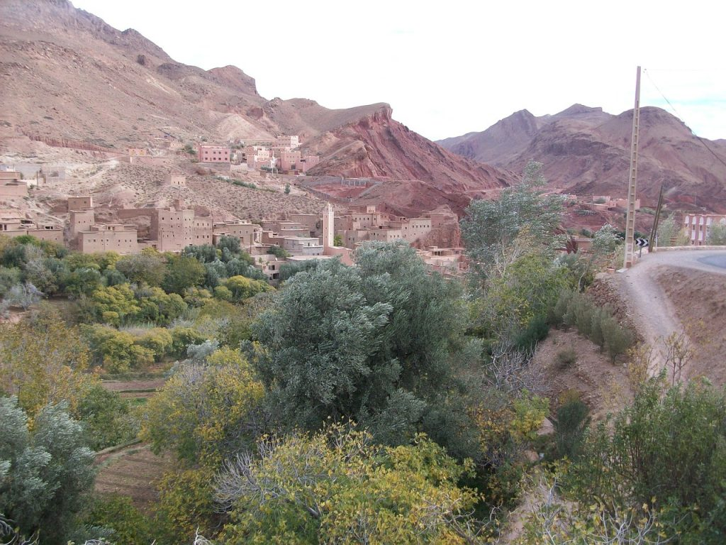 high atlas town