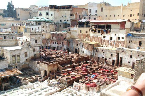 morocco Fez Town
