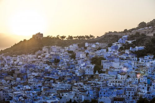 morocco Chefchaouen town