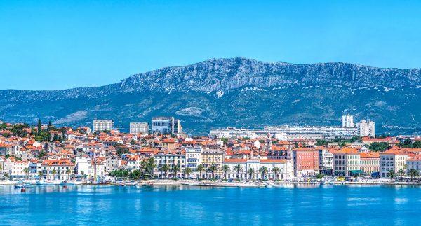 split harbour in croatia