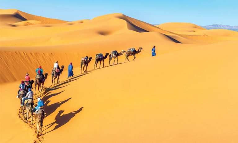 Women Travel Group in Morocco