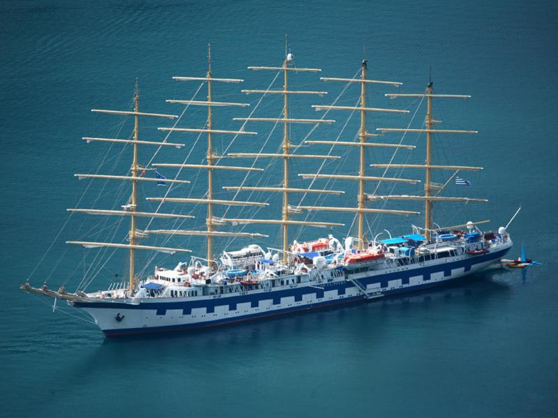 Royal clipper boat