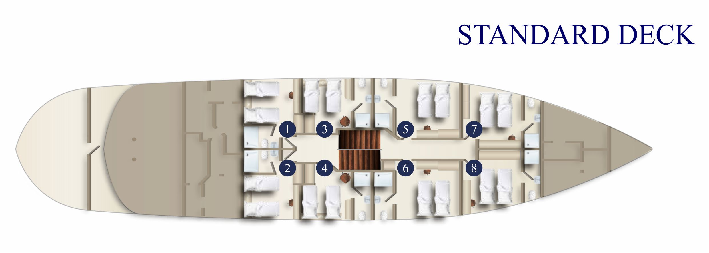 MS SAN SPIRITO standard deck