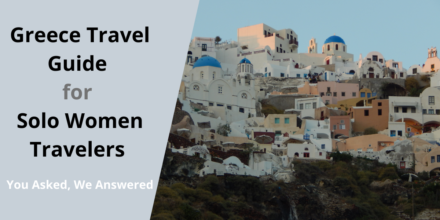 Greece tour for single women