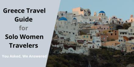 Greece tour for single women